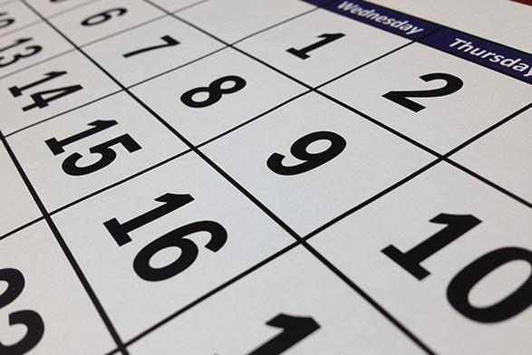 活動カレンダー
